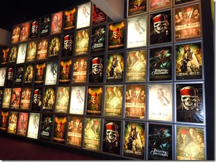 pirates caribbean movie poster wall